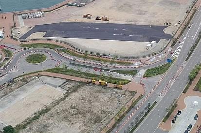 En Hong Kong, el pit lane ya se ha completado
