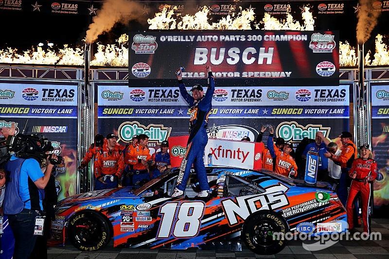 Kyle Busch fährt 80. Xfinity-Sieg ein
