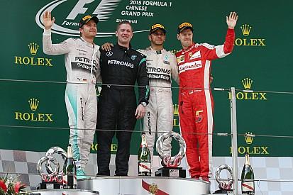 Alle Formel-1-Sieger in Shanghai