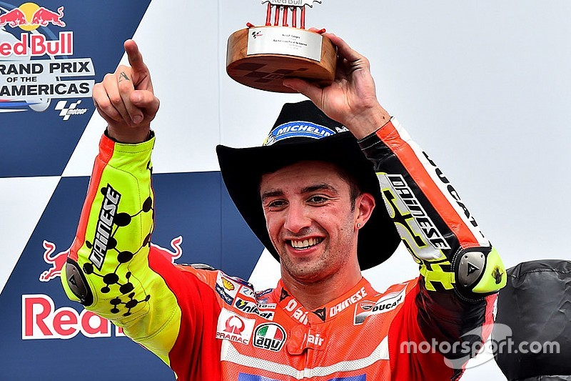 """Iannone - """"J'avais besoin de ce podium, je le dédie à Ducati"""""""