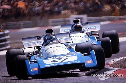 Anthony Beltoise à Monaco sur la Matra MS120 de son père