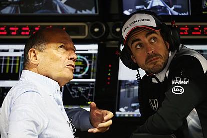 阿隆索不确定自己能参加中国大奖赛
