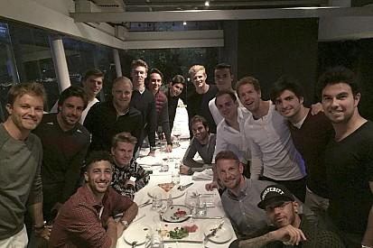 Los pilotos de F1 cenan juntos antes del GP de China