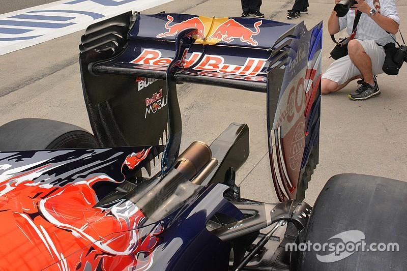 Formel-1-Technik: Toro Rosso mit modifiziertem Heckflügel