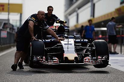 Technique - Refroidissement asymétrique sur la Toro Rosso STR11