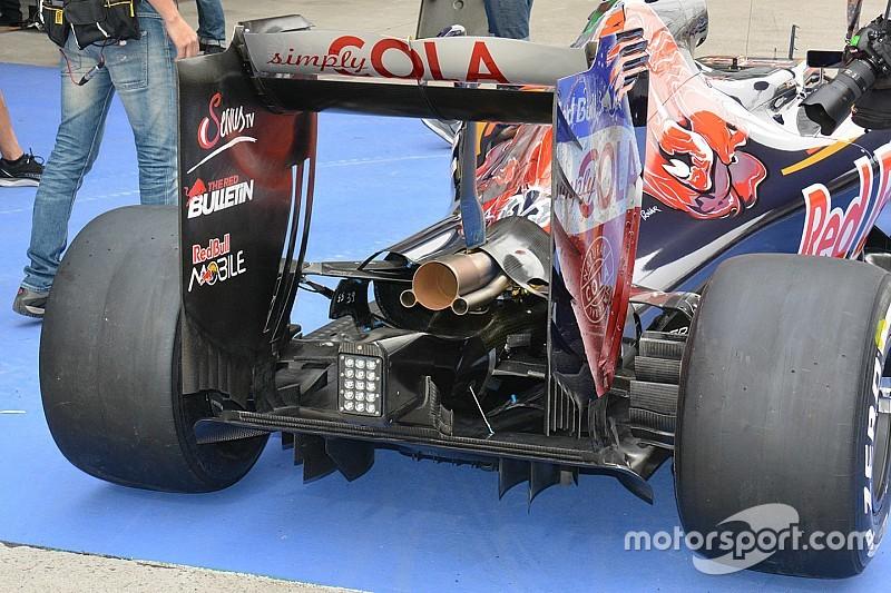 Tech update: Asymmetrische koeling bij Toro Rosso
