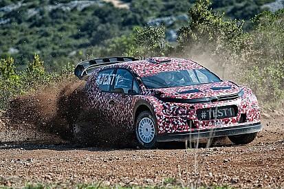 Citroen zeigt den C3 WRC für die Rallye-WM 2017