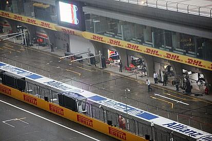 Grand Prix von China: Sebastian Vettel Schnellster im Regen