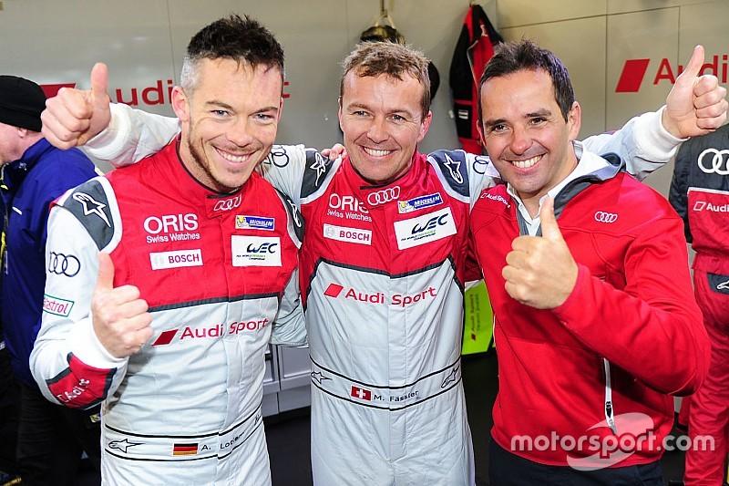 Silverstone WEC: Audi boven in natte en koude kwalificatie