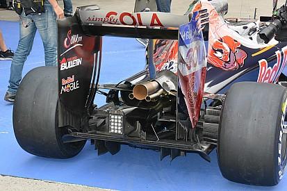 Formel-1-Technik: Asymmetrisches Kühlsystem am Toro Rosso STR11