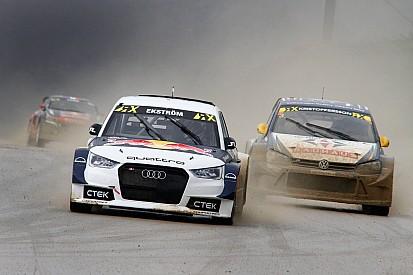 Ekström en tête devant Kristoffersson, Loeb 5e