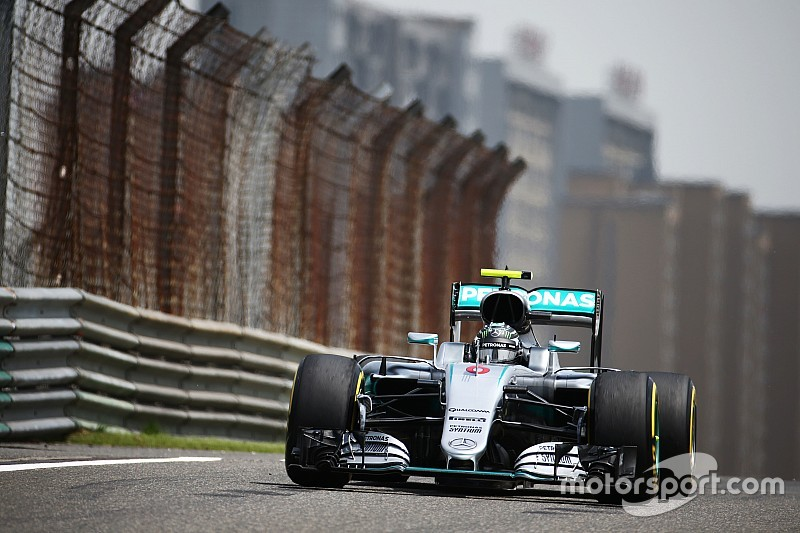Die Startaufstellung zum Grand Prix von China