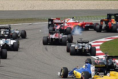 """Vettel, remonté de P15 à P2, fulmine contre un Kvyat """"suicidaire"""""""