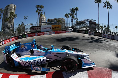 La grille de départ du Grand Prix de Long Beach