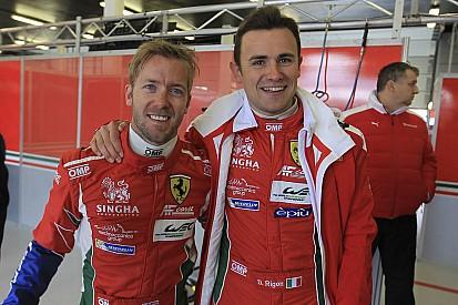 """Rigon: """"Che emozione vincere al debutto con la Ferrari 488"""""""