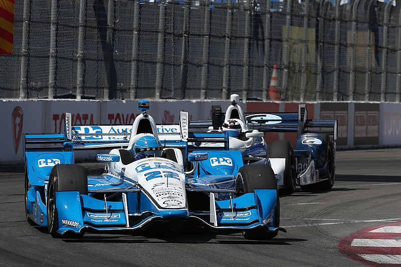 Pagenaud wint IndyCar-race in Long Beach