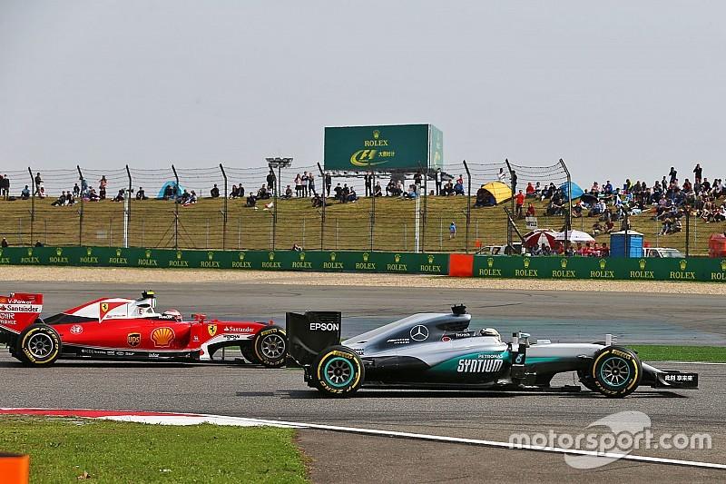 "Mercedes: ""Geholpen door teruggeschroefde motor Ferrari"""