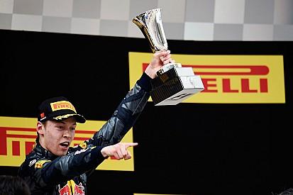 """Daniil Kvyat élu """"Pilote du Jour"""" du GP de Chine"""