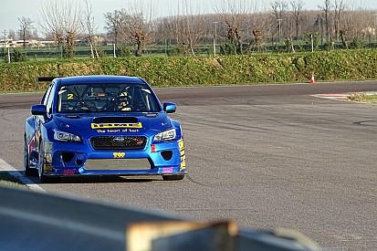 Luca Rangoni torna al volante della Subaru all'Estoril