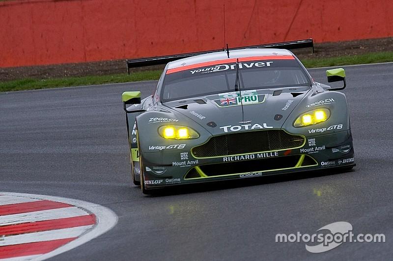 Un week-end solide pour Aston Martin à domicile