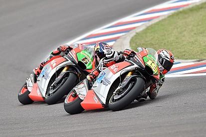 Avec le GP de Jerez, Aprilia met des nouveautés au banc d'essai