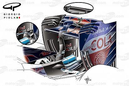 Formel-1-Technik: Neuerungen beim Grand Prix von China