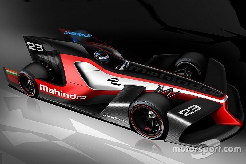Mahindra и Pininfarina раскрыли облик будущего автомобиля Формулы E