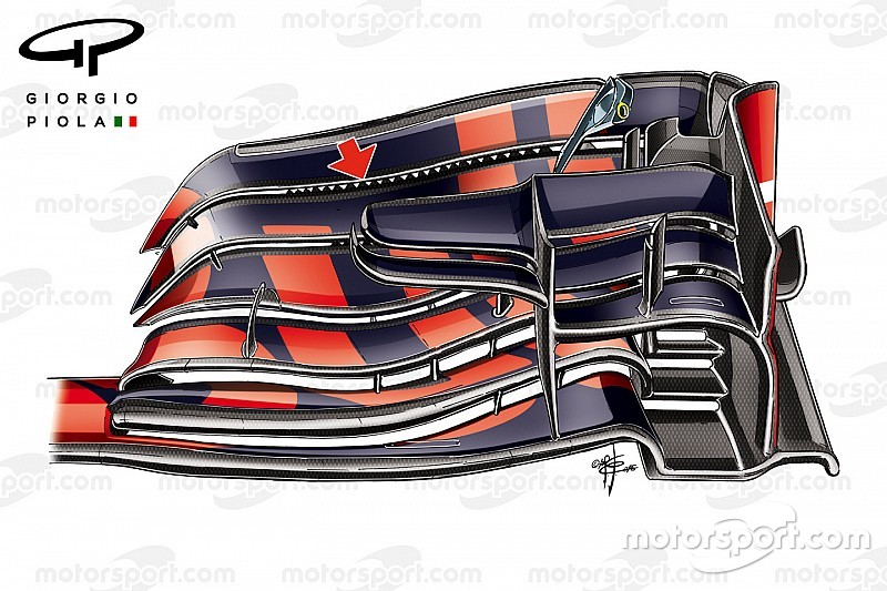 【F1メカ解説】レッドブル、メルセデスを追うために開発を猛プッシュ