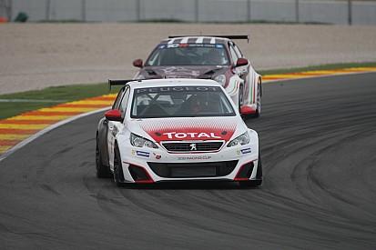 Deux Peugeot 308 Cup pour le Sébastien Loeb Racing à Spa