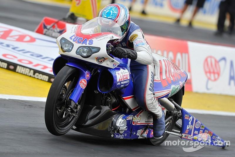 Pro Stock Motorcycle's Hector Arana JR. has no problem with motivation