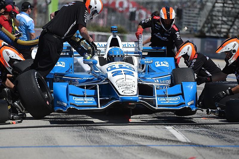 В IndyCar опробуют электронную фиксацию выезда с пит-лейна