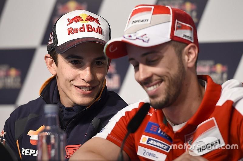 """Marquez ontkent Yamaha-overstap, """"maar ben gebeld door Ducati"""""""