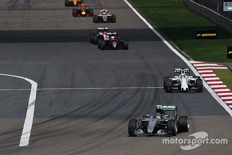 F1 overweegt brandstoflimieten voor 2017 te verhogen