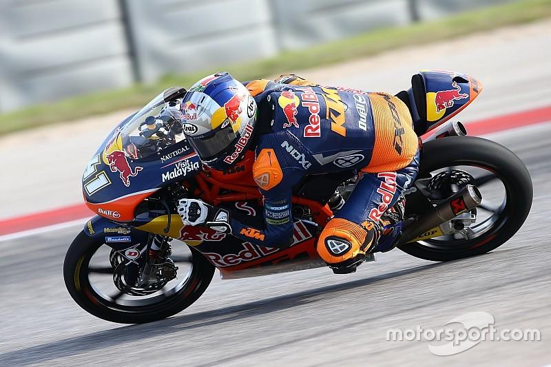 Tweede training GP Spanje: Binder neemt stokje over