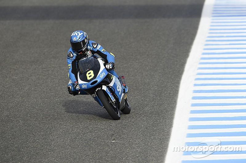 Pupilo de Rossi, Bulega consegue 1ª pole na Moto3