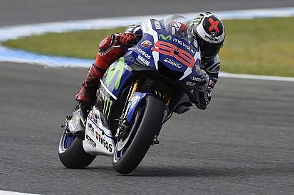 Jerez, Libere 4: Jorge Lorenzo torna a dettare il ritmo. Rossi terzo