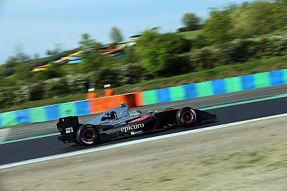 Cecotto boekt eerste zege in Formula V8 3.5, Visser sterk naar P7