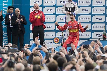 دي غراسي يفوز بجائزة باريس للفورمولا إي