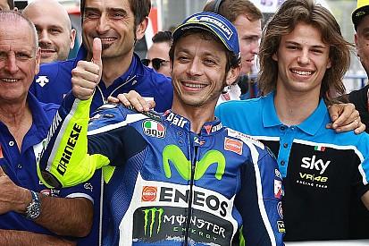 """Rossi: """"Io, Jorge e Marc assieme all'ultima curva? Vince il quarto!"""""""