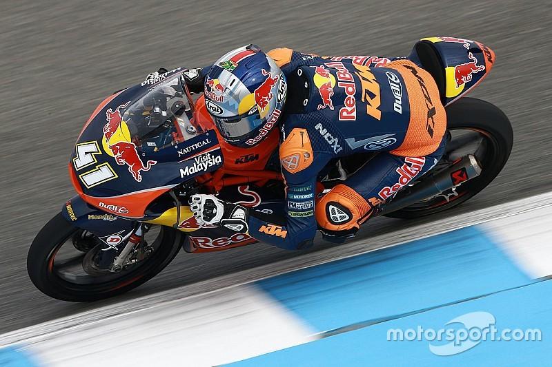 Moto3 in Jerez: Brad Binder mit sensationellem ersten Sieg