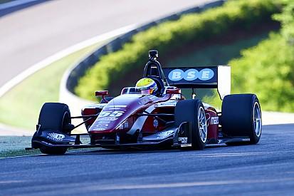 Urrutia logró su primer triunfo en Indy Lights