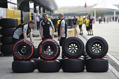 Times podem ter que fazer escolhas de pneus às cegas em 2017