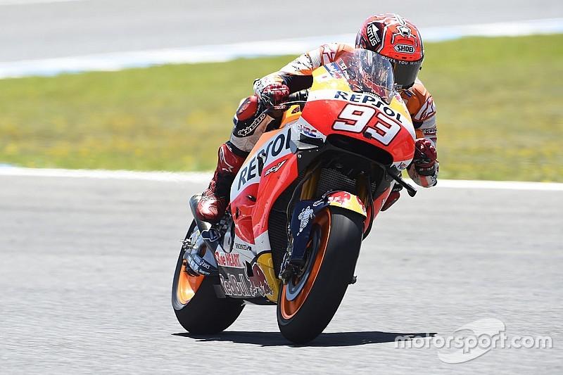 Marquez nipt voor Lorenzo op eerste in-season testdag