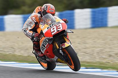 Márquez se impone a las Yamaha en el primer test de temporada