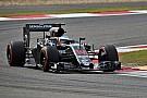 Alonso: el McLaren sufre en recta pero