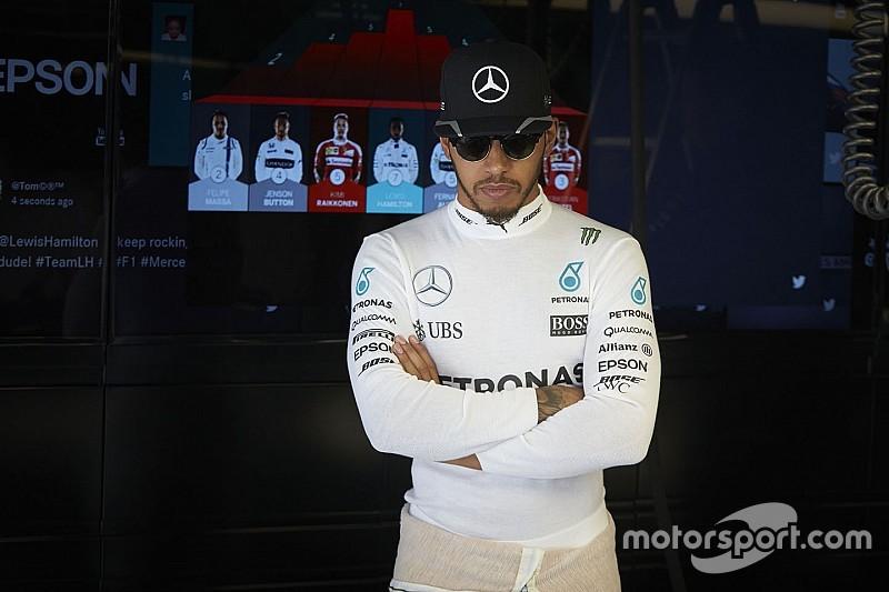 """Hamilton: """"Quiero terminar mi carrera con el mismo éxito que Rossi"""""""