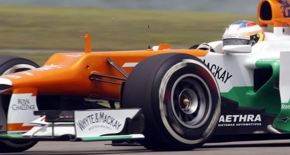 Force India: Takımın hızı cesaret verici