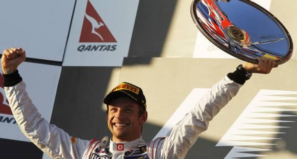 Avustralya GP'nin galibi Jenson Button