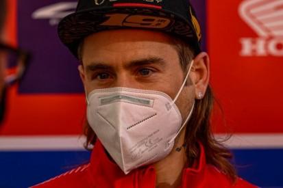 Honda testet neue Teile: Alvaro Bautista nach Trainingssturz aber nicht belastbar