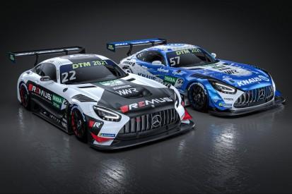 DTM 2021: Unterschiedliche Designs für die Mercedes-AMG von Winward